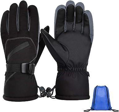 Waterproof Women Ski Gloves
