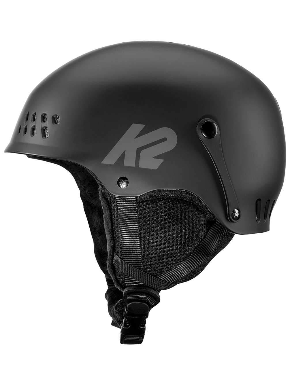 K2 Damen Entity Black Skihelm