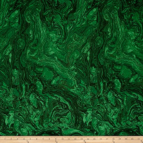 118in Wide Quilt Back Marble Emerald Fabric By The Yard - Marble Quilting