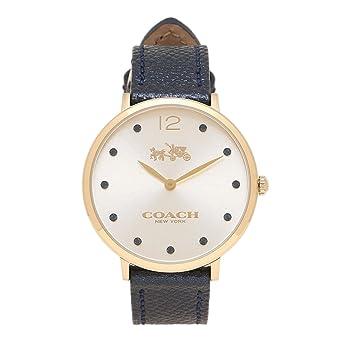 8e5c684dab304 Amazon.com  COACH Women s Slim Easton - 14502687 Chalk One Size  Watches