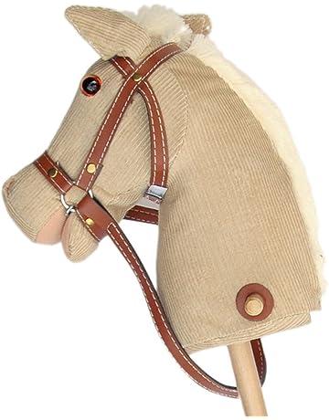 Pink Papaya caballo de juguete, Cordy, bonito caballo de juguete de cord con sonido