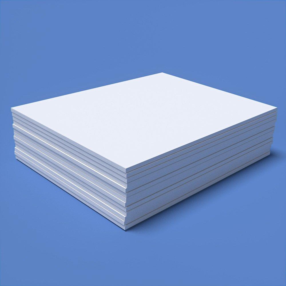 DEBRADALE DESIGNS Unruled Personalized 8.5'' x 11'' Custom Memo Note Pads. 14 Pads - 50 Sheets Per Pad. Made in the U.S.A.