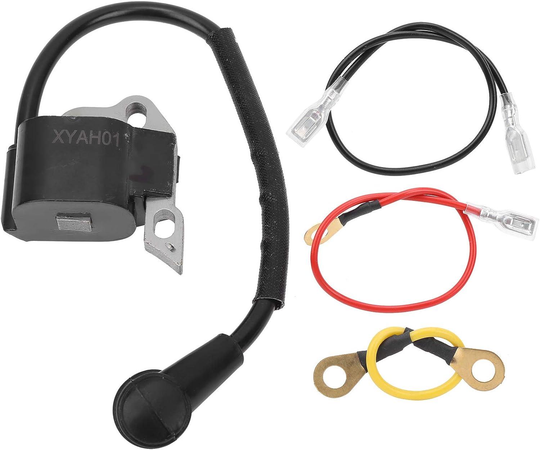 Bobina de encendido para motosierra de jardín, repuesto de accesorios de montaje adecuado para STIHL MS250, piezas de motosierra de motores, armadura de magneto electrónico