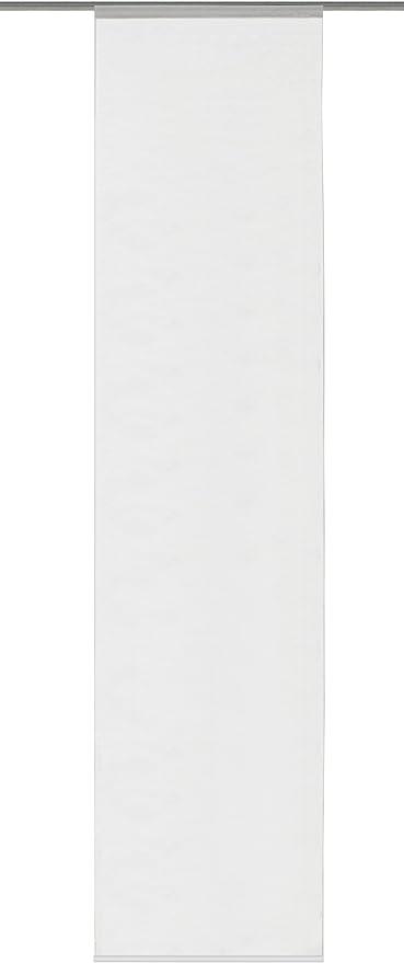 Bianco 245 x 60 cm Home Fashion Parete Scorrevole Tessuto