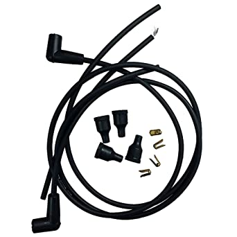 Amazon.com: JDS643 New for John Deere Tractor Spark Plug ... on john deere solenoid wiring diagram, john deere b wiring, john deere generator wiring, speedex tractor wiring, john deere skidder wiring, snapper riding mower wiring, peg perego tractor wiring, fiat tractor wiring, john deere electronic ignition conversion, john deere 140 wiring, john deere ignition wiring diagram, john deere lx173 wiring, john deere 112 wiring, john deere 210 wiring, same tractor wiring, john deere excavator wiring, john deere 420 wiring, john deere 1020 wiring harness, wheel horse tractor wiring,
