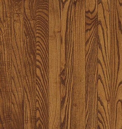 Bruce Hardwood Floors CB234 Dundee Strip Solid Hardwood Flooring, Fawn - Hardwood Fawn