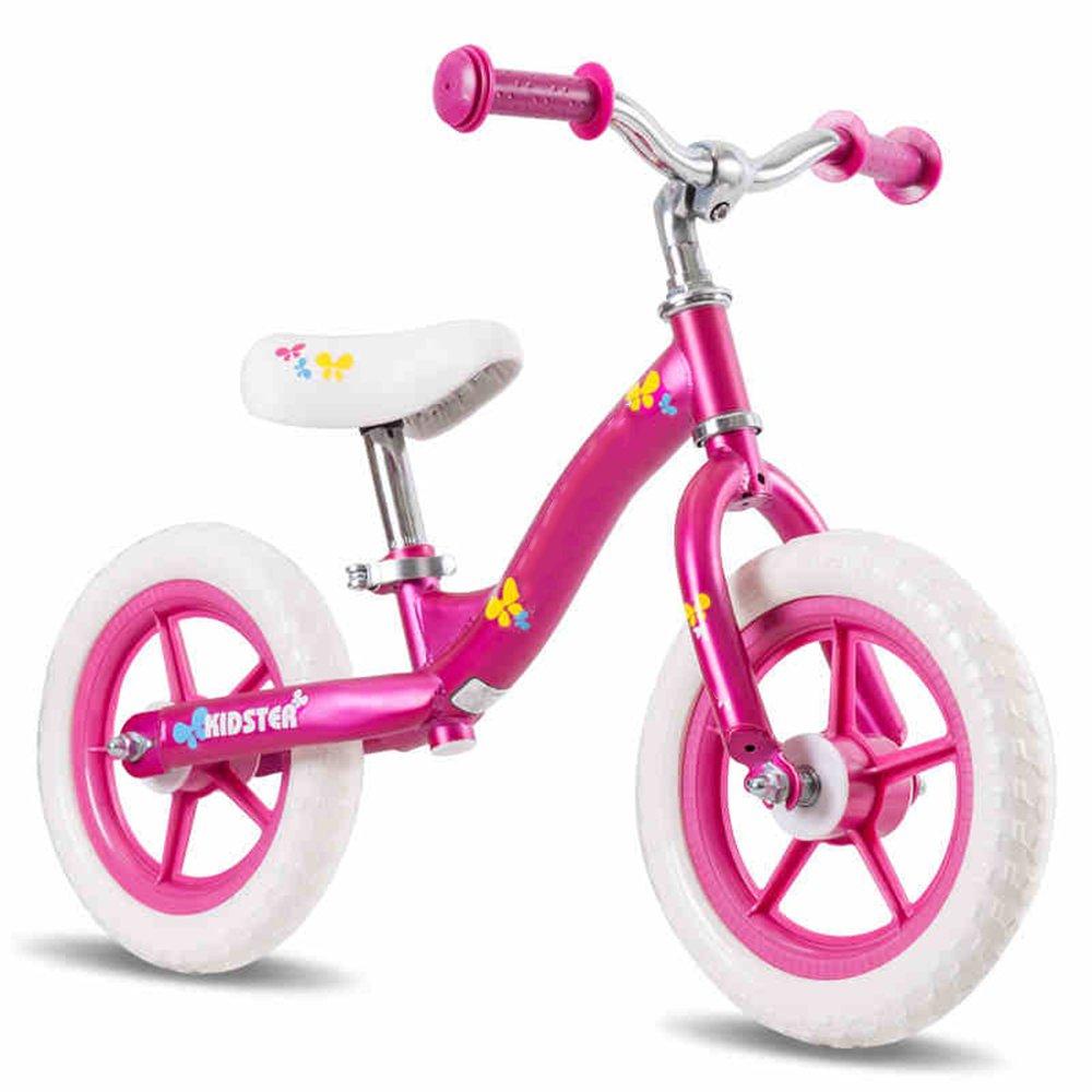 YANGFEI 子ども用自転車 子供のバランスの自転車2-3-6歳赤ちゃんのスリッパ/子供のおもちゃヨー車グライド幼児ウォーカーベビーウォーカー、 212歳 B07DWWKDNGピンク ぴんく