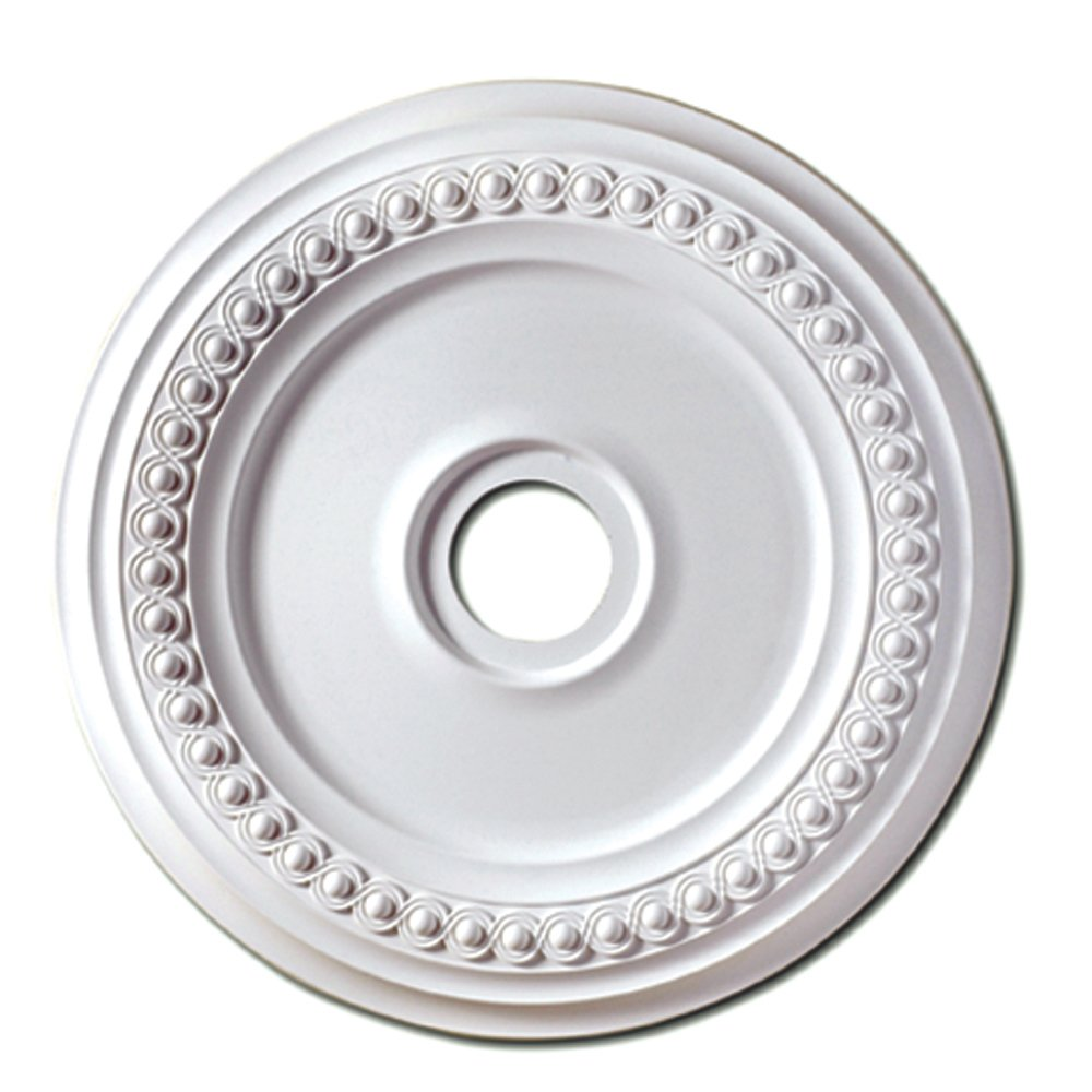 Focal Point Rondel Medallion in Primed White (18-Inch) by Focal Point