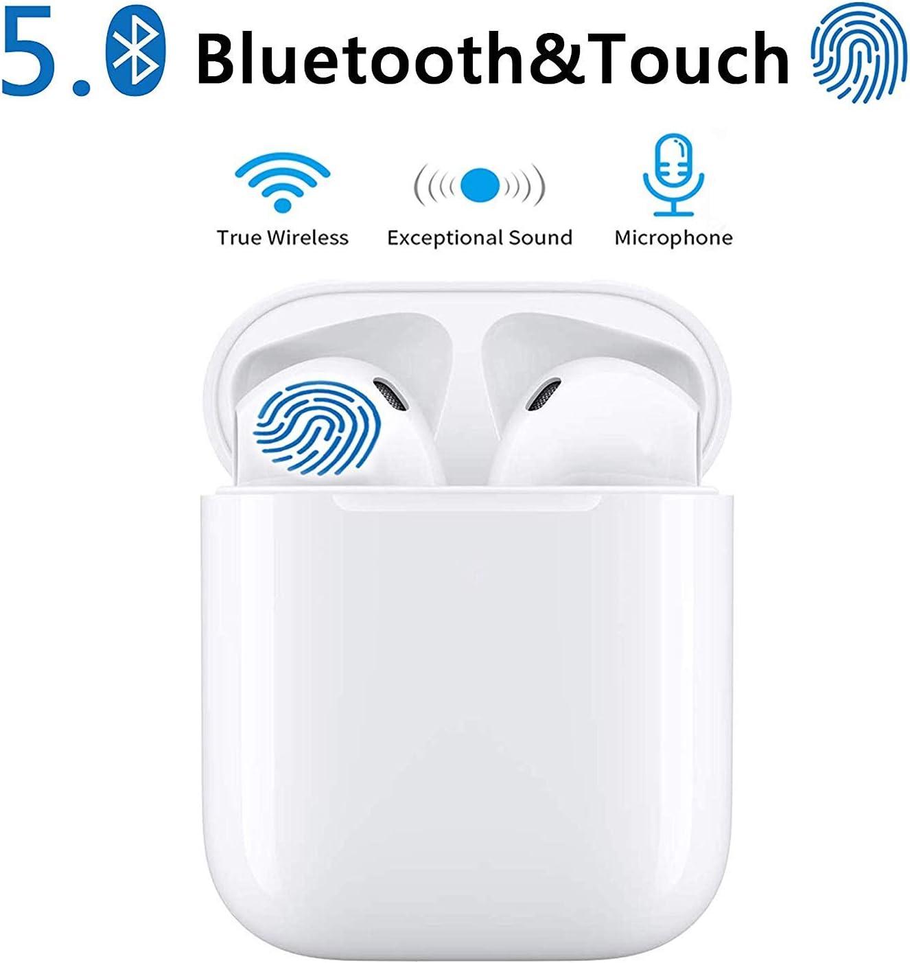 【Neueste】 Bluetooth 5.0 Kopfh/örer Kabellos Noise Cancelling In Ear Ohrh/örer mit 950mAh Batterie Sport IPX6 Wasserdicht Mikrofon f/ür Apple Airpod Android iPhone