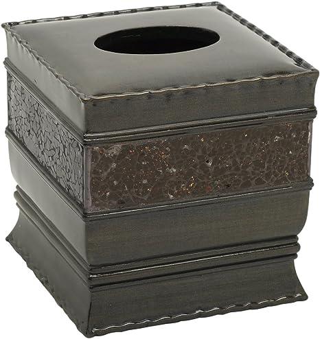 Bronze Zenith Products 2619651351 Zenna Home India Ink Prescott Waste Basket