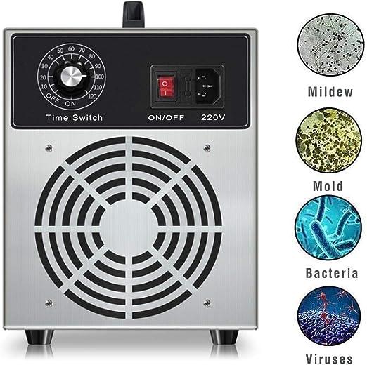Lychee Generador de ozono Comercial Profesional,3000mg/h 220V ...