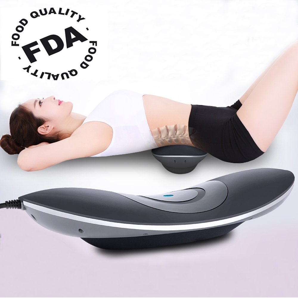 Sales Until Black Friday!!Patented FDA Guaranteed 4 in 1 Medical Waist Lumbar Traction Device with Heat and Magnetotherapy, Luxurious Enjoy,Therapy Unit Provide Relief for Back Pain and Soreness