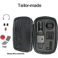 [por Yinsoouli] Estuche compatible con DJI Osmo Pocket, bolsa de almacenamiento portátil, cardán duro y accesorios para Osmo Pocket (negro, espacio libre)