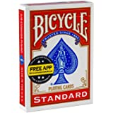 Bicycle Poker - Baraja de cartas, tamaño estándar, colores surtidos