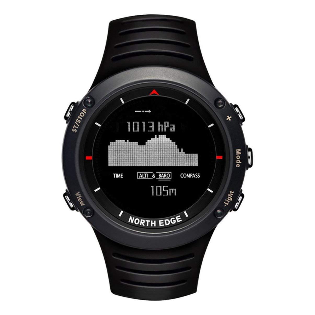 JullyeleDEgant North Edge Altay Outdoor intelligente Sportuhr wasserdicht 50m Smart Digital Watch für Männer Wandern Reisen