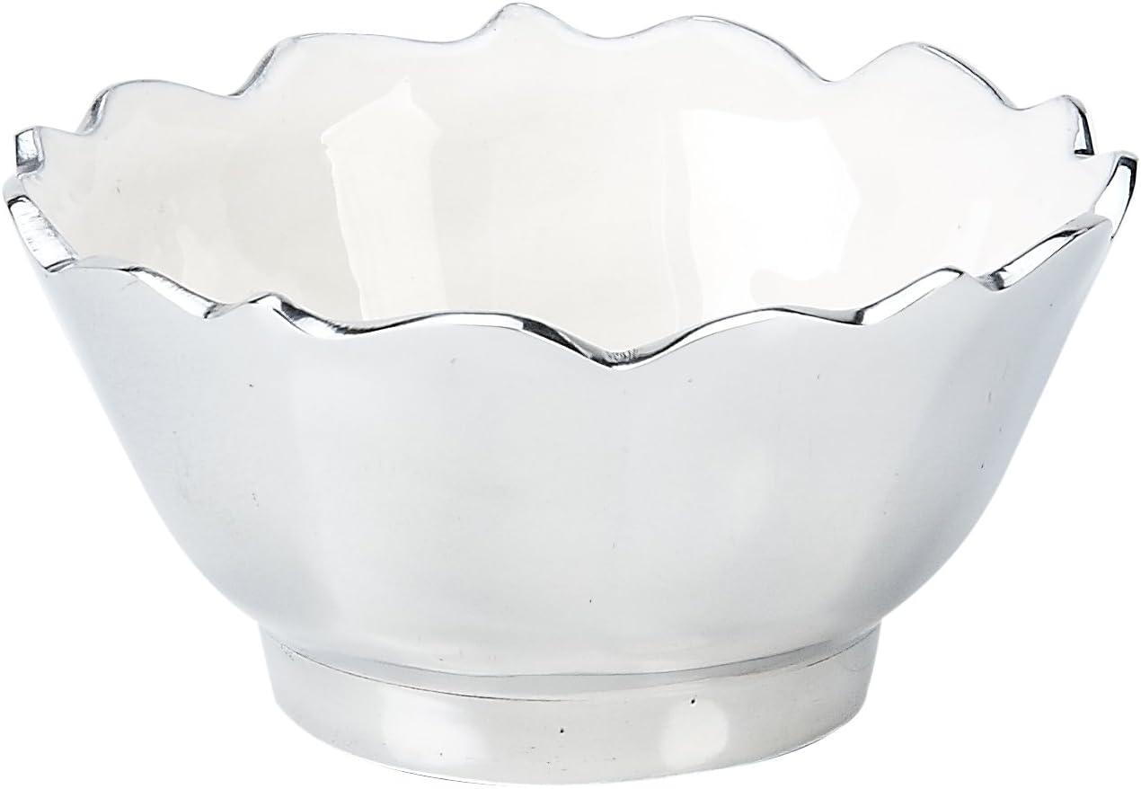 Impulse Bordeaux Bowl Small White Set Of 6 Kitchen Dining