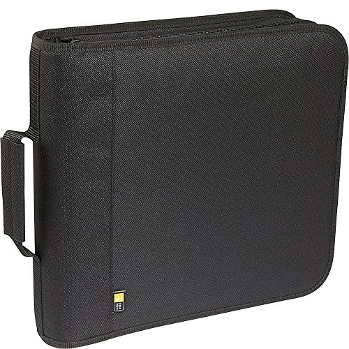 Cd Nylon Case 208 Logic (Case Logic 208 Capacity Nylon CD/DVD Wallet (Black))