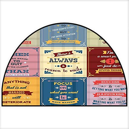 Amazoncom Entrance Hall Carpet Collection Of Motivational Quotes