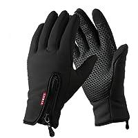 yygift® Gants sports d'extérieur Écran tactile Gants d'hiver wind-stopper imperméable pour hommes femmes