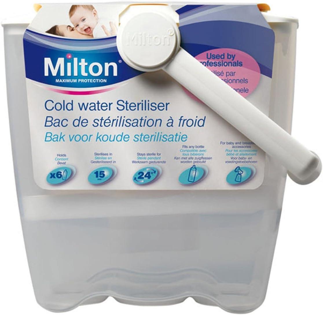 Milton Esterilizador de agua fría.