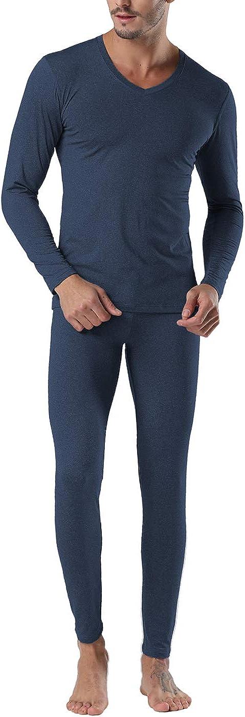 Conjunto de Ropa Interior térmica de Invierno para Hombre, Manga Larga, Parte Superior de los Pantalones de los Johns