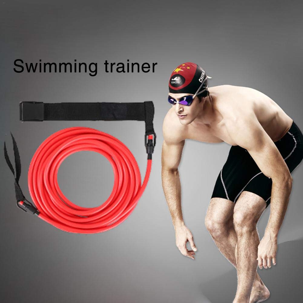 Rundaotong-US -Elastic Traction Belt Professional Swimming Training Speed Trainer Silicone Puller Water Traction Rope for Swimmer- by Rundaotong-US (Image #2)