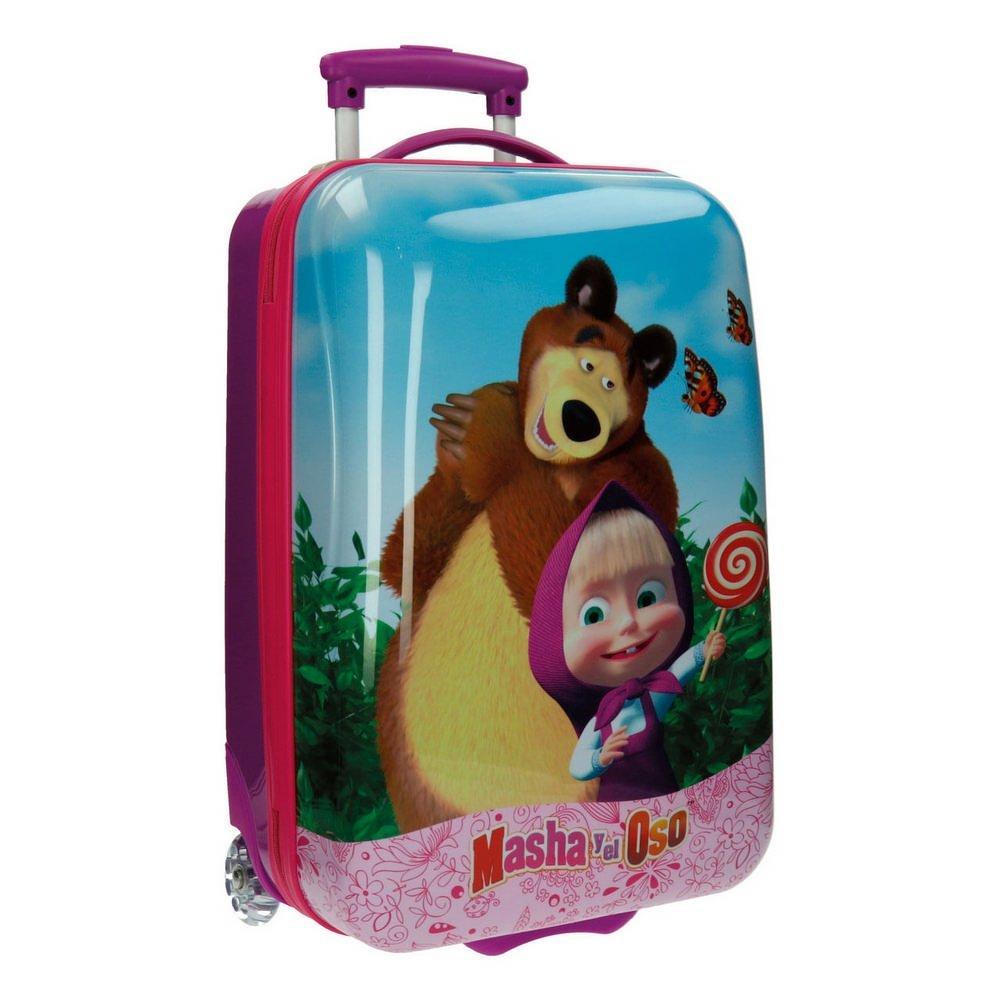 Masha Kabinenkoffer und Der Bär Kindergepäck, 33 Liter, Rosa