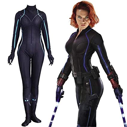 Avengers 4 Black Widow Siamese Tights Cosplay Costume