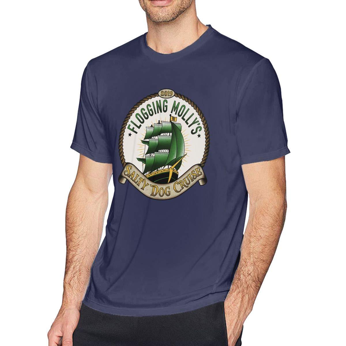 Fmtindall Flogging Molly Crewneck Ultra Short Sleeve Adult T Shirt 3603