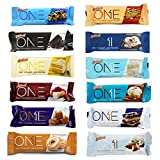 quest lemon protein bars - Oh Yeah! One Bar Super Variety 12 Count Variety Pack | Including New Salted Caramel