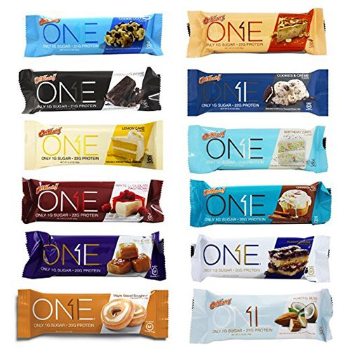 Oh Yeah! One Bar Super Variety 12 Count Variety Pack | Including New Salted Caramel (1 Bar)