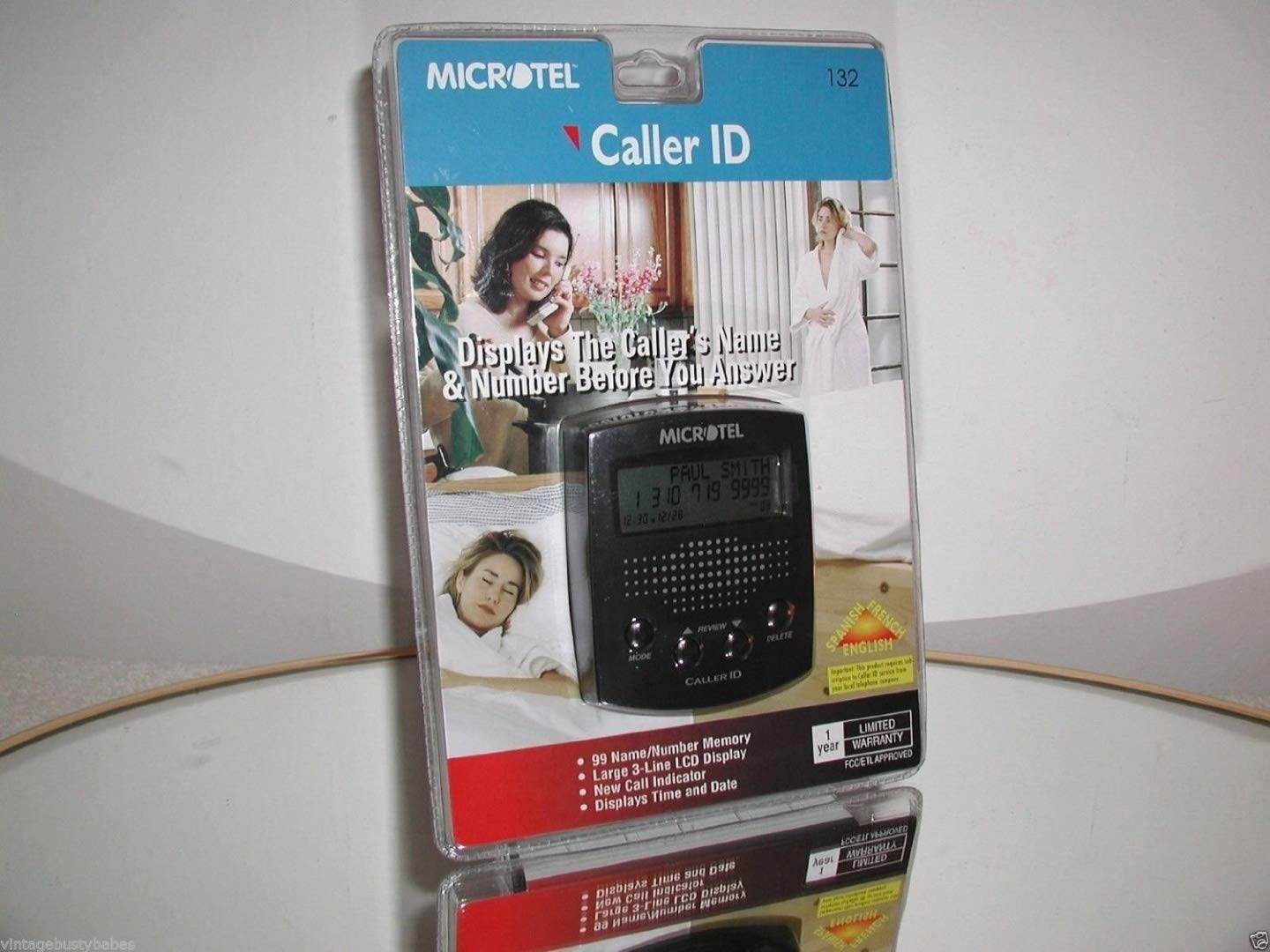Microtel Caller ID Model 132