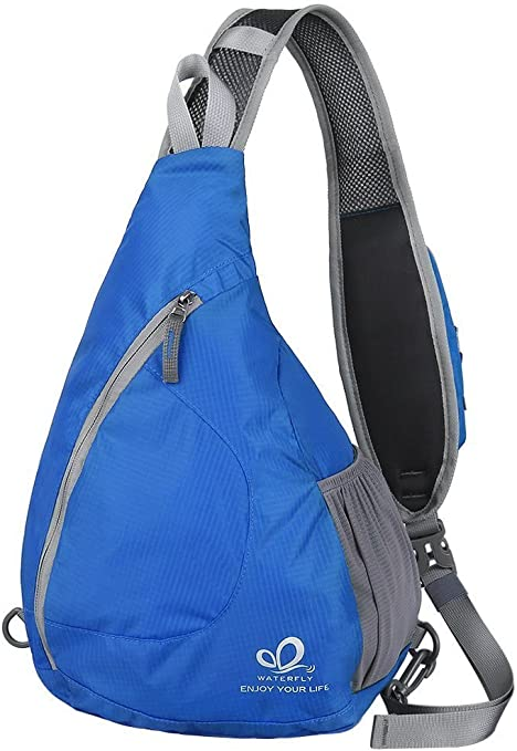 Sling Zaino Waterfly Petto Borsa A Tracolla Crossbody Bag Zaino triangolo per