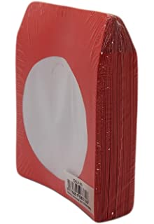 100 Paper CD sleeves with Window and Rear Flap BestDuplicator CDSLV-100-WH