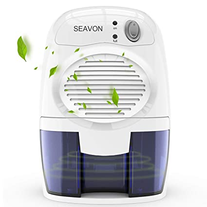 Amazon.com - SEAVON Electric Mini Dehumidifier, 1500 Cubic Feet (170 ...