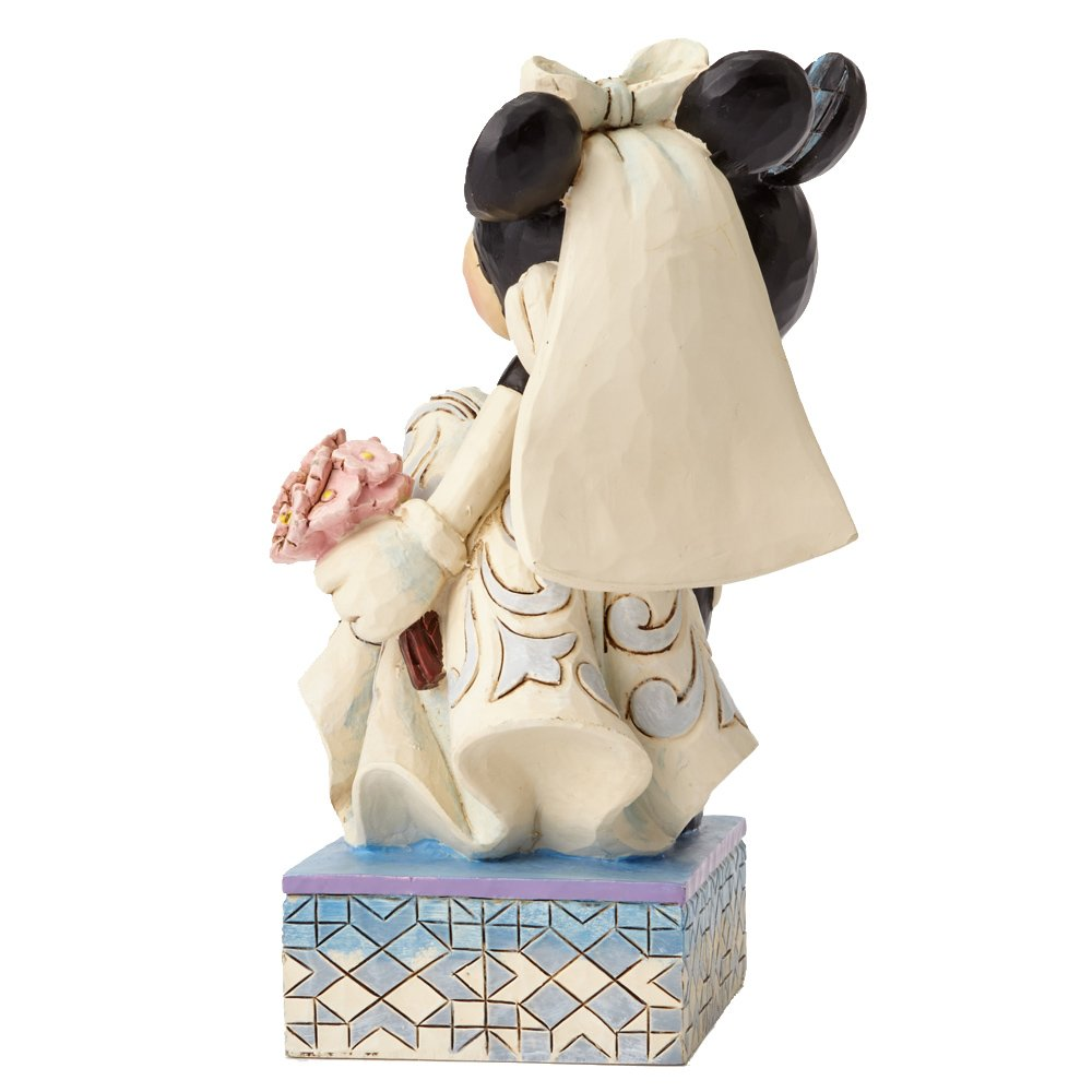 Disney Traditions Mickey and Minnie Wedding Figure: Amazon.co.uk ...