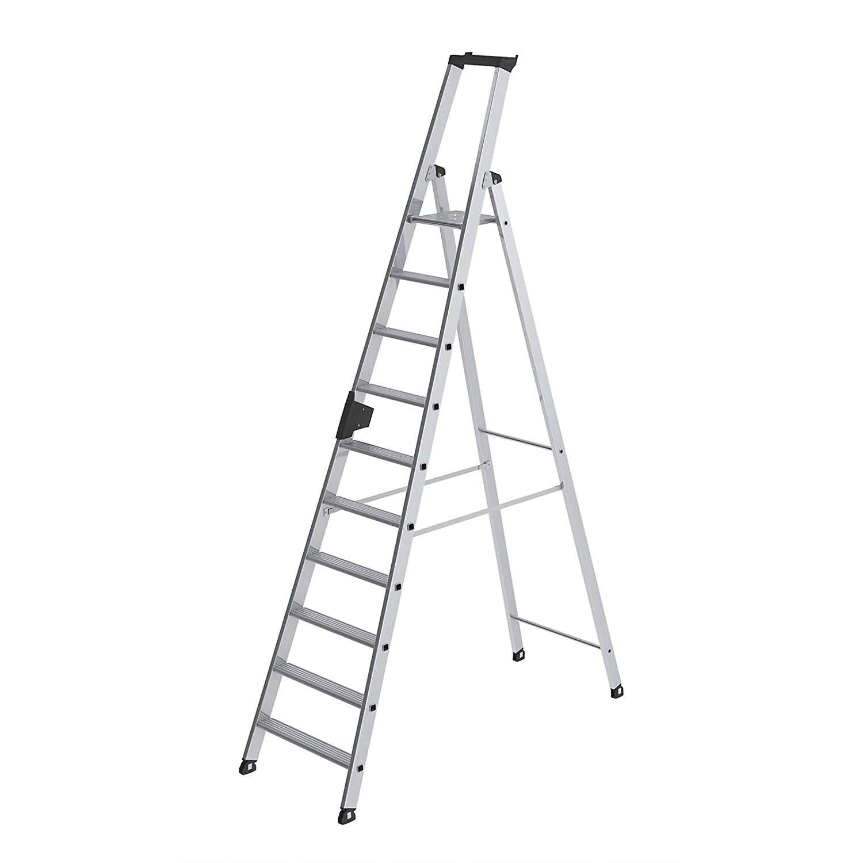 Format 4031405401044/ /stufen-stehleiter Alu 4/Stufen mit br/ñcke