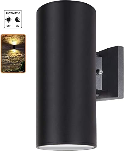Dusk to Dawn Sensor Outdoor Wall Sconce