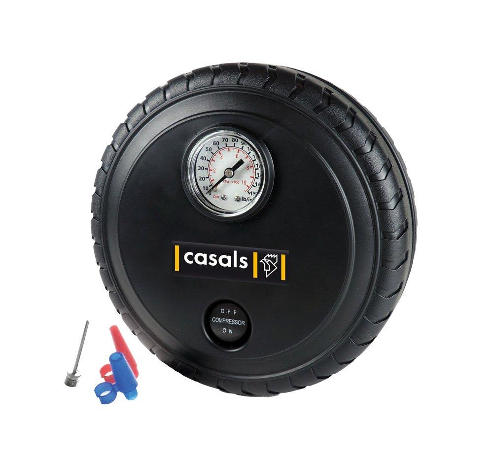 Casals C14005000 Compresor de aire 12 W, 12 V: Amazon.es: Bricolaje y herramientas