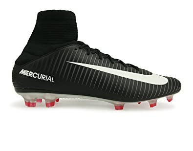NIKE MEN S MERCURIAL VELOCE III DYNAMIC FIT FG BLACK WHITE DARK  GREY UNIVERSITY 5ea2155dede0