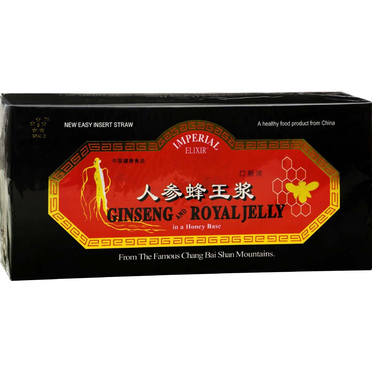 Imperial Elixir / Ginseng Company Ginseng and Royal Jelly, 30X10 Cc: Amazon.es: Salud y cuidado personal