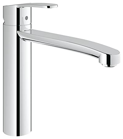 GROHE one hand-SPT-mixer Eurostyle C 31124 swivelling spout chrome ...
