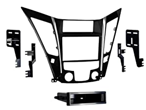 Metra 99-7343 Single/Double DIN Dash Installation Kit for 2011 Hyundai Sonata Vehicles