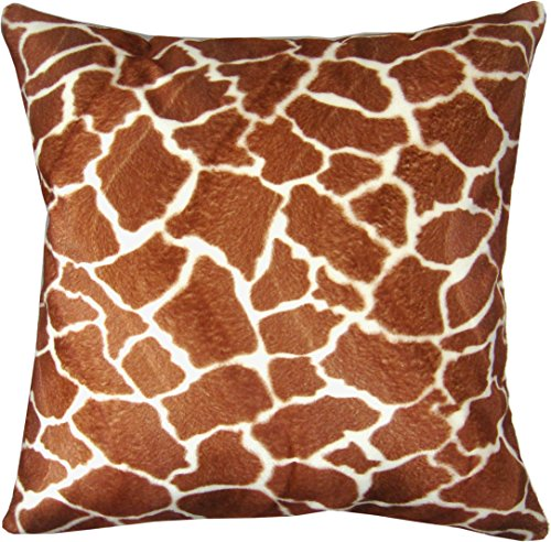 (Naree Giraffe Faux Fur Pillow Cover 18