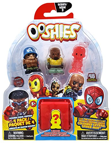 Ooshies Marvel 7 Pack Asst Wave 2