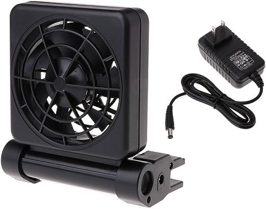Exing Aquarium - Ventiladores de Refrigeración para Acuario con ...