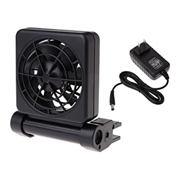 Exing Aquarium - Ventiladores de Refrigeración para Acuario con Control de Temperatura DE 1/2: Amazon.es: Productos para mascotas