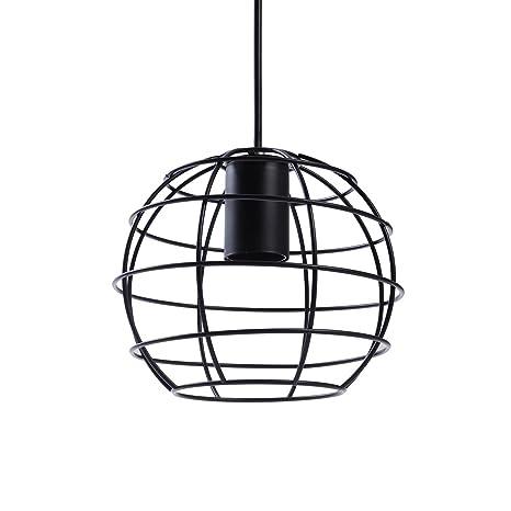 ledmomo lámpara de techo Vintage - Farol de hierro colgar ...