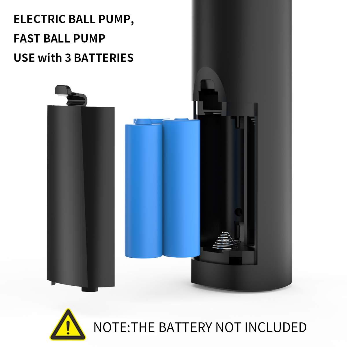 morpilot Ballpumpe|Tragbare Elektrische Luftpumpe Mini Automatische Handpumpe|Ball Pumpe mit Luftschlauch| 2 Nadeln für Fußball Basketball Ballon Volleyball Handball