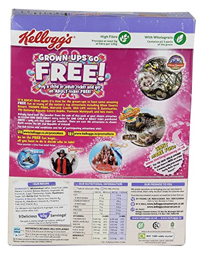 Kellogg'S 1 Fruit And Fibre, 375G by Kellogg's (Image #2)